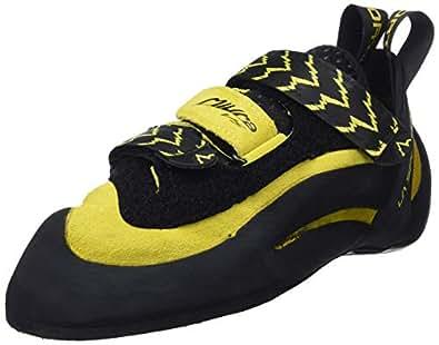 La Sportiva - Climbing Shoes - Unisex - 555 Miura - Black/Yellow Jaune/Noir 36,5 EU