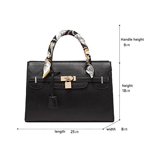 Sunas 2017 Nuova borsa borsa tracolla grande modello trasversale pacchetto borsa Platinum pacchetto nero