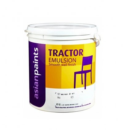 Asian Paint Tractor Emulsion In White Colour 10 Ltr