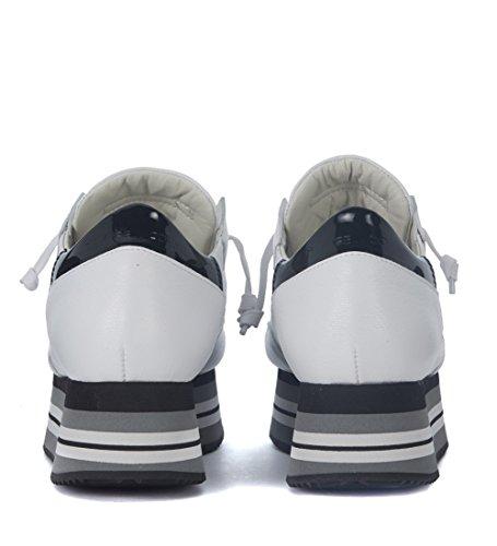Philippe Model Sneaker Eiffel in Pelle Bianca Bianco