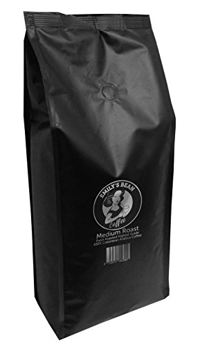 Emily's Bean Coffee – 100% Colombian Arabica Coffee – Whole Bean Coffee 1kg bag – Carefully Medium Roasted – Hand Picked – Best Quality Gourmet Coffee Beans – Rich Taste, Unsurpassed Aroma – Espresso Coffee Beans – Suitable for All Coffee Machines 41lnPEPPJEL