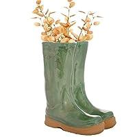 Dibor - Green Ceramic Glaze Flower Pot Planter (BR03)