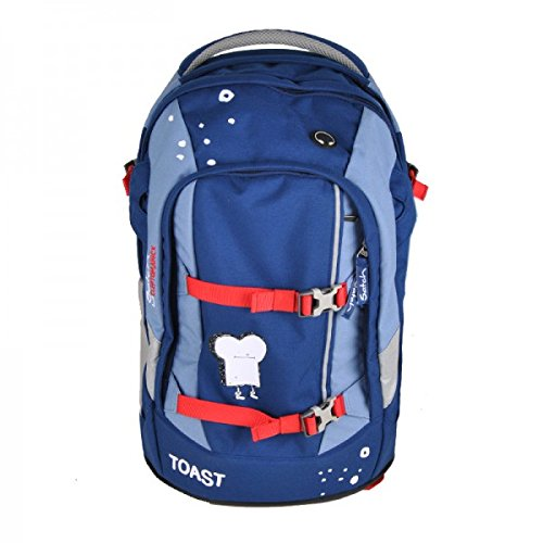Satch Pack - Schulrucksack Cleptomanicx - Blue Toast