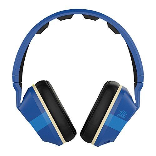 Skullcandy Ill-Famed Collection Crusher Over-Ear Surround Kopfhörer mit In-Line Mikrofon - Königsblau/Schwarz/Creme