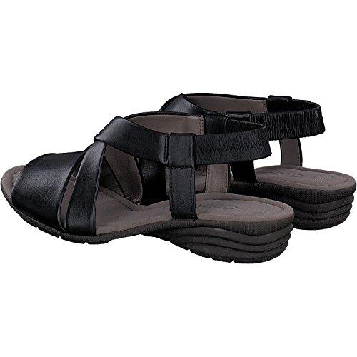 Gabor Casual, Sandali con Cinturino alla Caviglia Donna Nero