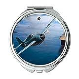 Yanteng Weltkrieg Flugzeuge, Spiegel, Reise-Spiegel, Kämpfer, Taschenspiegel, Tragbare Spiegel
