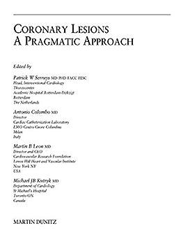 Coronary Lesions: A Pragmatic Approach por Patrick W. Serruys epub