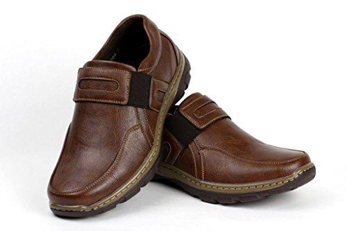 Gli Comodo Ufficio Indossando Mocassino Scarpe Eleganti Casuale Marrone Classico Lavoro Da Uomini rxawqzgW8r