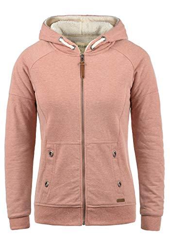 DESIRES Mandy Pile Damen Sweatshirt Pullover Pulli Mit Teddy-Futter, Größe:L, Farbe:Powder Rose (P5178M)