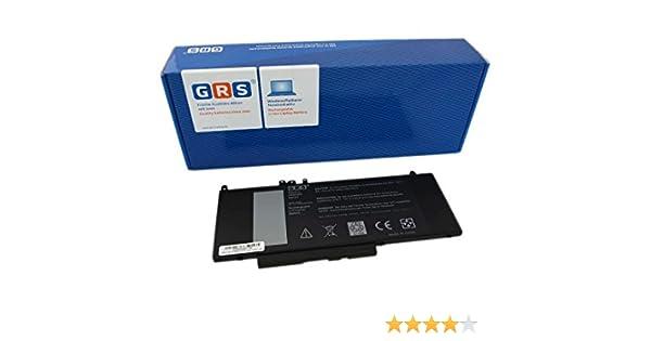 E5570 Serie remplac/é: 0R9XM9 G5M10 6MT4T 7V69Y GRS Batterie pour Dell Latitude E5450 Laptop Batterie 5200mAh//38Wh 7.4V E5550 8V5GX 08V5GX