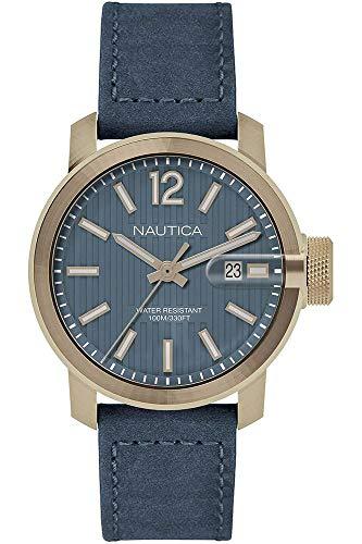 Nautica NAPSYD004_it Montre à Bracelet pour Homme