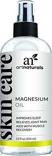 Art Naturals, olio spray di magnesio puro (355 ml),...