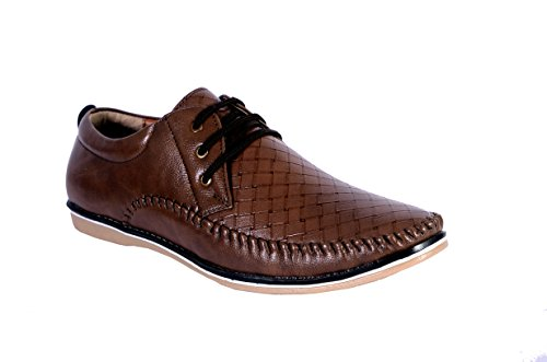 Shoebook Mens Brown Loafers