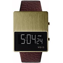VOID V01 Watch - Gold/Brown
