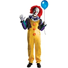 bedf239c910d Costume da 3 pezzi completo di Clown Pennywise. Rubie  s Ufficiale Pennywise  Deluxe Clown it The Movie