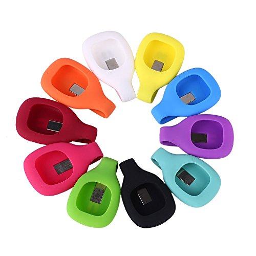 Forfar Beweglicher Silikon Gürtel Clip Ersatz Armband Bügel Armband Für Fitbit Zip Aktivität Tracker Outdoor Fitnessgeräte