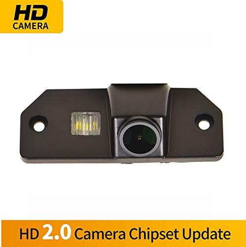 fahrkamera in Kennzeichenleuchte Einparkhilfe Kamera Nachtsicht Einparkkamera für Ford Fiesta ST Mondeo BA7/Focus MK2 MK3/Fiesta/S Max/KUGA/EcoSport Explorer (Model B= Screw Style) ()