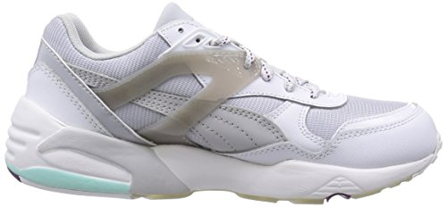 Puma R698 Basic Sp Te, Baskets Basses Femme Blanc (White/Glacier Gray/Steel Gray)