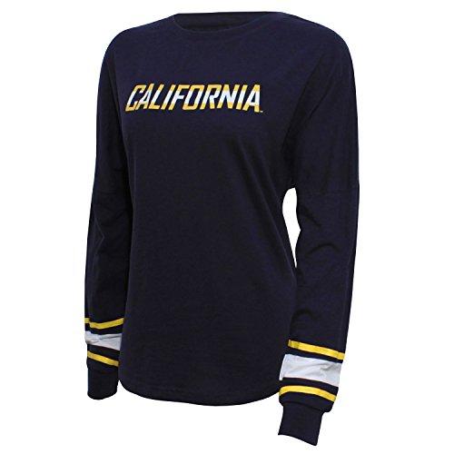 NCAA Damen NCAA Campus Specialties Long Sleeve Fan Tee, Damen, Long Sleeve Fan Tee, Navy, X-Large - 100% Baumwolle Womens Tee