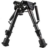 Gewehr Zweibein Ständer, UMsky Taktische federbelasteten Beine Rückkehr Rest Bipod für Jagdgewehrschiessen Gewehr Pistole Waffe Scharfschuetzengewehr