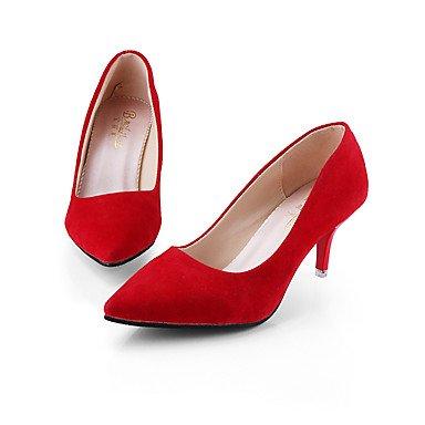 Tacchi Club Scarpe Donna Pelle di cinghiale festa di nozze e abito da sera tacco a spillo Nero Rosa Rosso Grigio Pink