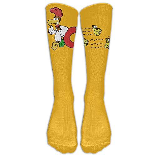 Kailey hello Chick Magnet Unisex Sports Socks Tube Socks Knee High Compression Sports Athletic Socks Tube Stockings Long Socks -