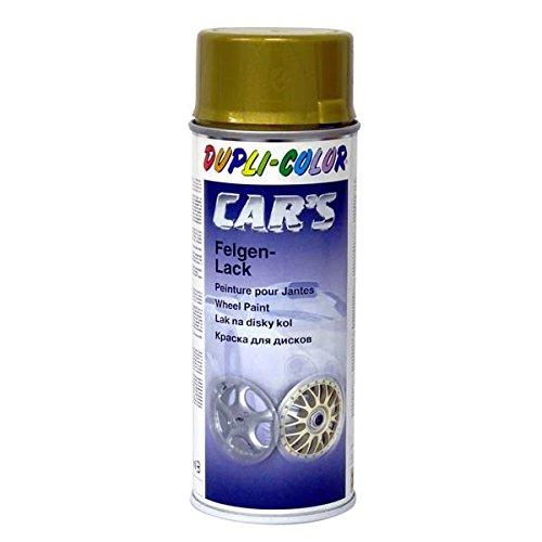 Dupli-Color 385902 Car's-Spray Felgengold, 400 ml