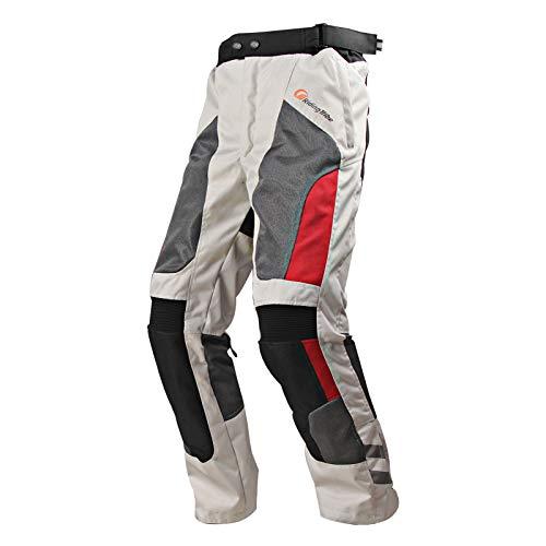 Ocamo Pantalones de Ciclismo de Moto de Verano Unisex Pantalones de Moto...