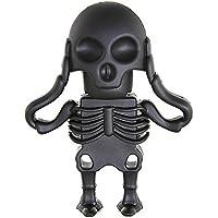 aneew 16GB pendrive Horror USB unidad Flash Memory Stick regalo de Halloween Black Skull 16 gb