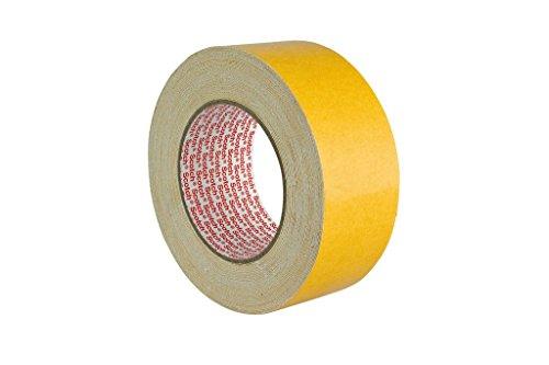 3M Doppelseitiges Klebeband 9191 in Weiß 50mm x 25m / Verlegeband für Klebearbeiten verschiedener Werkstoffe und Textilien / 1-er Pack Foto Transfer-tool