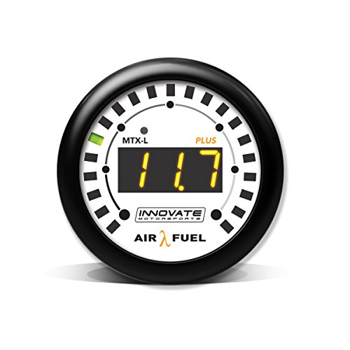 Innovar 3918mtx-l Plus Digital Wideband Aire/Fuel Ratio Gauge Kit, Negro