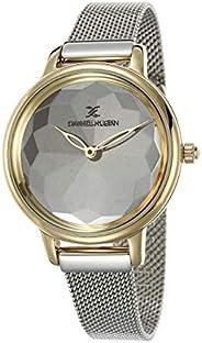 DANIEL KLEIN Premium Alloy Case Mesh Band Ladies Wrist Watch - DK.1.12495-5