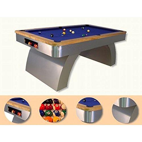 DESIGN PROFI BILLARDTISCH VALENCIA von XTRADEFACTORY Pool Billard Tisch Snooker Profi Spiel