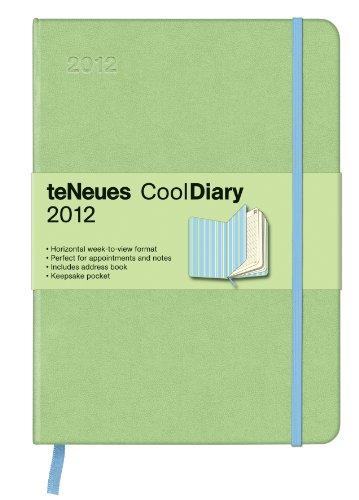 2012 Light Green/Stripes Cooldiary Med