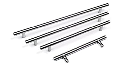 BOSS BAR KITCHEN DOOR HANDLES Doors or Drawers (10 sizes) produced by GTV - quick delivery from UK.