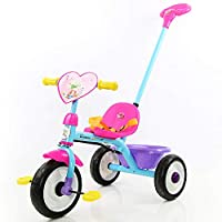 Little Bambino Parent Handle 2 in 1 Trike for Kids Childrens learn to Ride Tricycle 2019