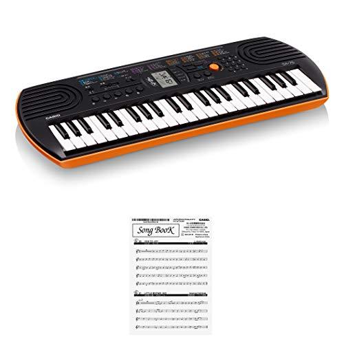 Casio 781071 SA-76 - Teclado electrónico 44 teclas