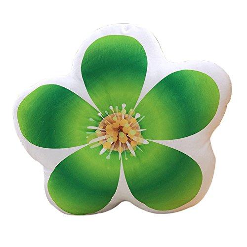 Funif Creative? Plüsch? Spielzeug Pflanzen? Überwurf Kissen? Rückenkissen Funny Schlafzimmer Kindergarten Dekoration Green Plum Blossom (Green Plum Blossom)