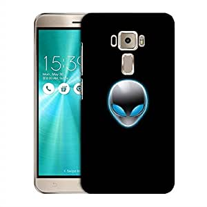 Snoogg Alien Mask Designer Protective Phone Back Case Cover For Asus Zenfone 3 Laser ZE520KL