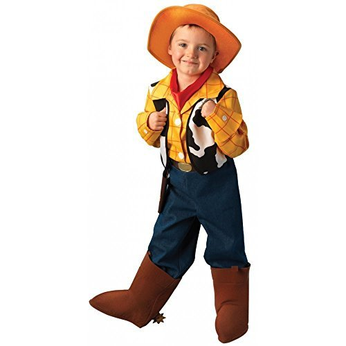 Jungen-Kostüm Woody TM aus Toy Story TM - 5-6 - Woody Kostüm