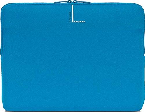 Tucano Second Skin Colore Neopren-Hülle für widescreen Notebooks 33 cm (13 Zoll) und 14 Zoll, blau (Laptop Schutzhülle 15 6 Skins)
