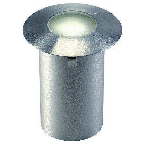 LED Einbauleuchte Trail-Lite LED, Blende Edelstahl mit satiniertem Glaseinsatz, LED warmweiß EEK: A - A++ -