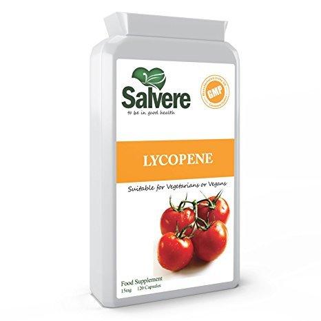 Lycopene 15mg for Heart Health, High in Powerful Antioxidant for