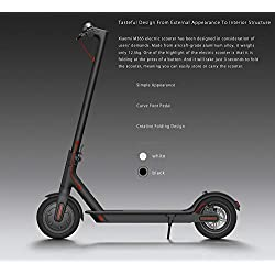 Xiaomi Ninebot Mijia M365 - Scooter eléctrico, Color Negro