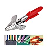 "Miter Cutter Main Shear, Multifonctionnel SK5 45-120 Deg Multi Angle Coupe Mitre Trunking Garniture Cisaillement 8"" Rouge"