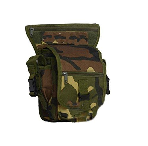 XD-Camo multifunzionale gamba giro in/outdoor sport borsa/viaggio Borse/impermeabile tattico gamba confezioni , d d