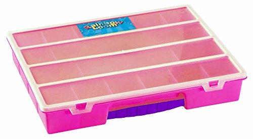 Rainbow Loom Organizer Pink - Organizer Armband Loom