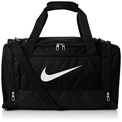 Nike Borsone da calcio Brasilia - Nero (Black/White) - 61 x 30 x 31 cm