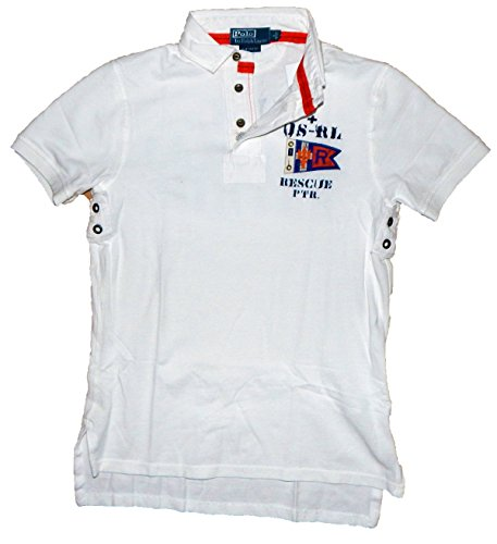 Polo Ralph Lauren Herren Poloshirt, US Coastal Guards, Custom Fit, S