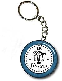 """Porte clé """"Le meilleur papa de l'univers"""""""